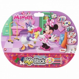 Set pictrura 5 in 1 Gigablok Minnie Mouse