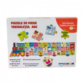 Trenuletul ABC – Puzzle educativ