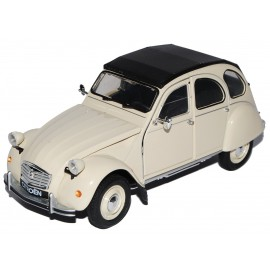 Macheta metalica Welly 1:24 -  Citroen 2 CV