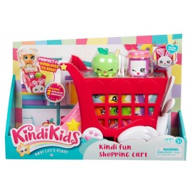 Kindi Kids Kindi Fun Shopping Cart Pre-School Doll Display Your Shopkins
