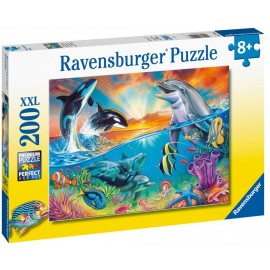 Puzzle Animale din Ocean, 200 piese