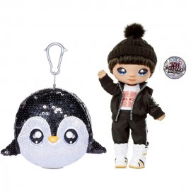 Na Na Na Surprise 2-in-1 Pom Doll in PDQ- Andre Avalanche