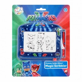 Tabla de scris PORTABILA PJ Masks Magic Scribbler