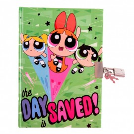 Agenda cu lacat POWER PUFF GIRLS